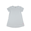 Lindsay Long T - White Athleisure