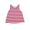 Totally Tank - Fuchsia Stripe