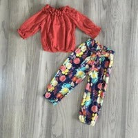 Girl's 2 piece Fall outfit