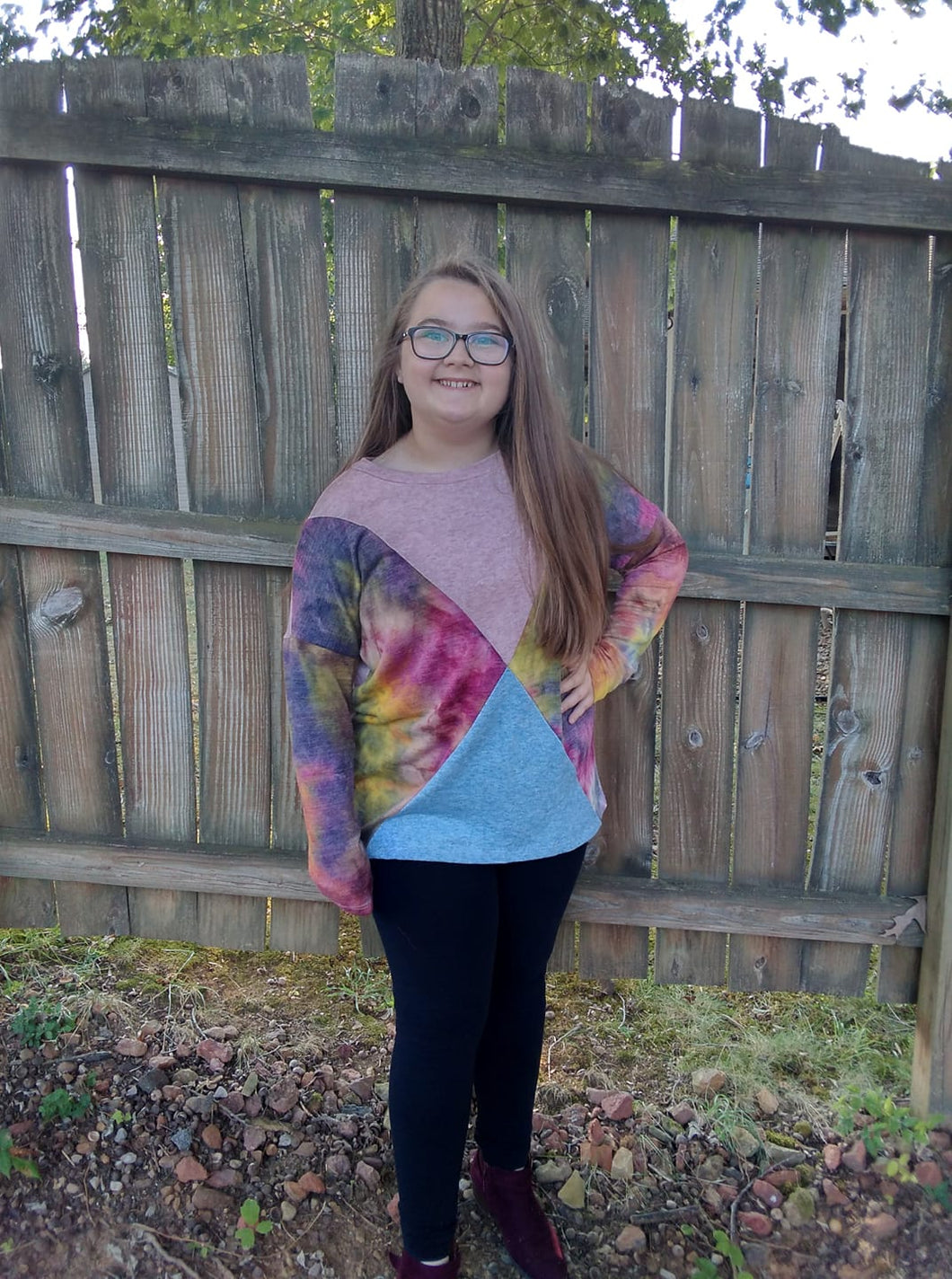 Women's Tie Dye Top
