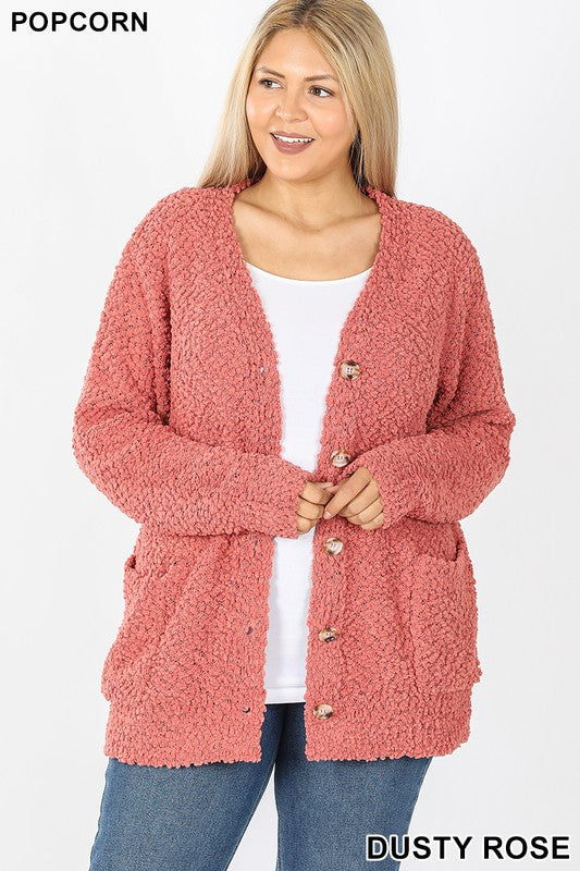 Women's Popcorn Sweater