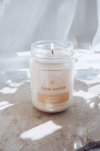 Pure Soy Candle by Dear Archie for Christmas Gift idea
