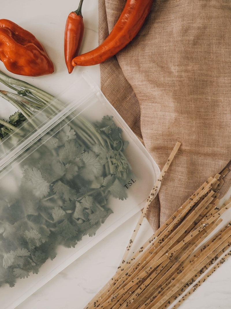 Reusable Silicone Zip Lock Bags - The Sustainable Life Co.