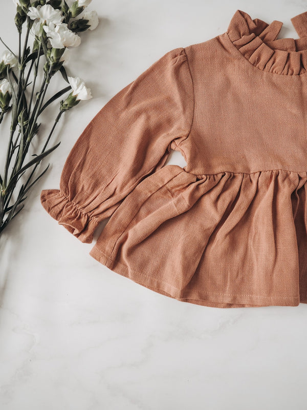 Ruffle Tunic and Bloomer Set for Baby - The Sustainable Life Co.