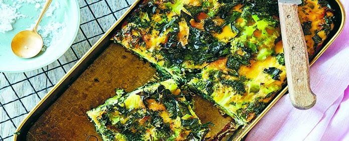One-Pan Green Frittata