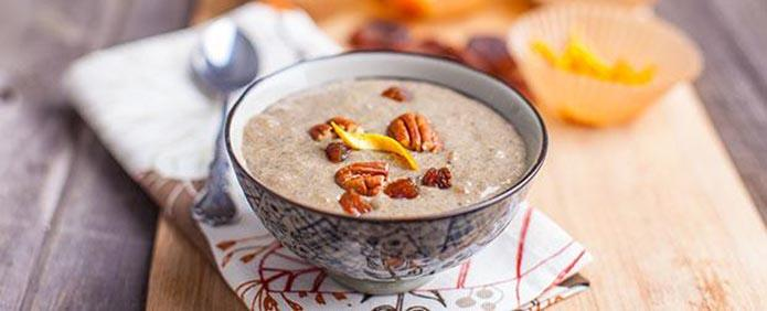 Protein Packed Vanilla Vegan Chia Pudding