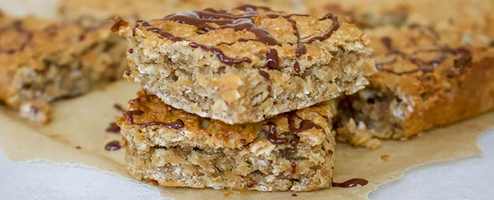 Lunchbox Peanut Butter & Banana Flapjacks
