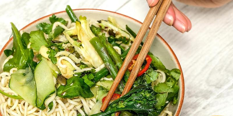 Green Goddess Noodle Salad from Biona