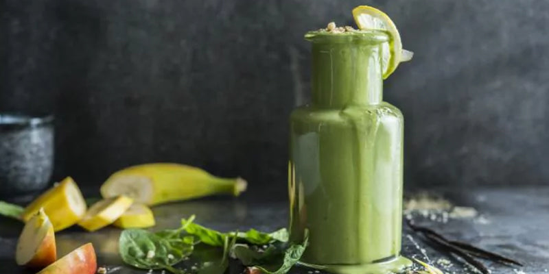 Vega's Apple, Banana And Carrot And Greens Protein Smoothie