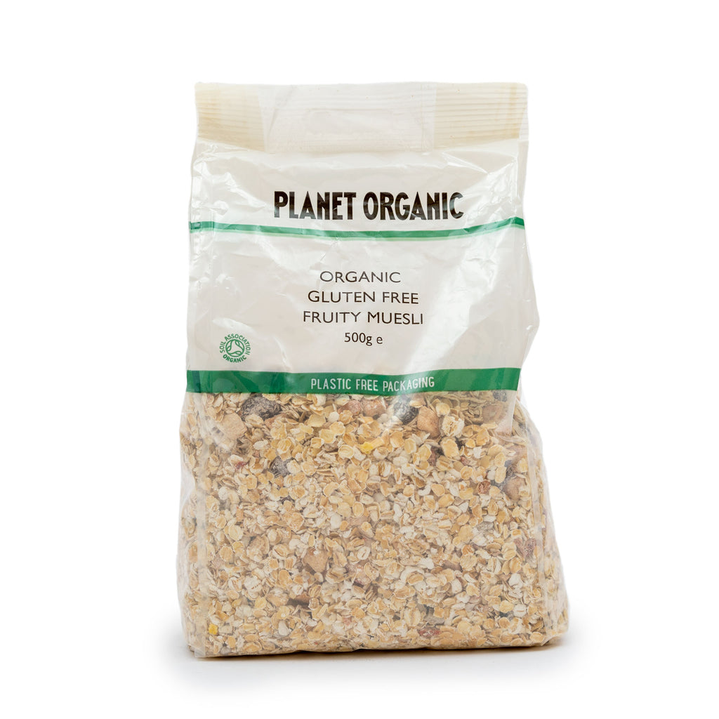 Planet Organic GF Fruity Muesli 500g