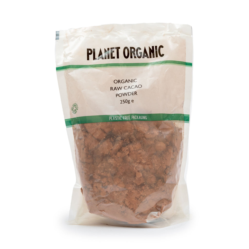 Planet Organic Raw Cacao Powder 250g