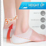 Concealed Footbed Enhancers Massaging – Invisible Height Increase