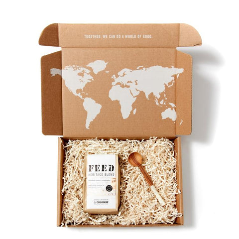 feed wake gift box la colombe