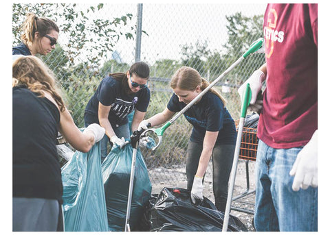 united by blue community cleanup