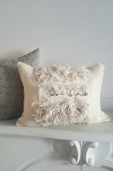 Pillow No. 0203: dogon cloth + handira