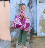 Ikat Seven Day Tote