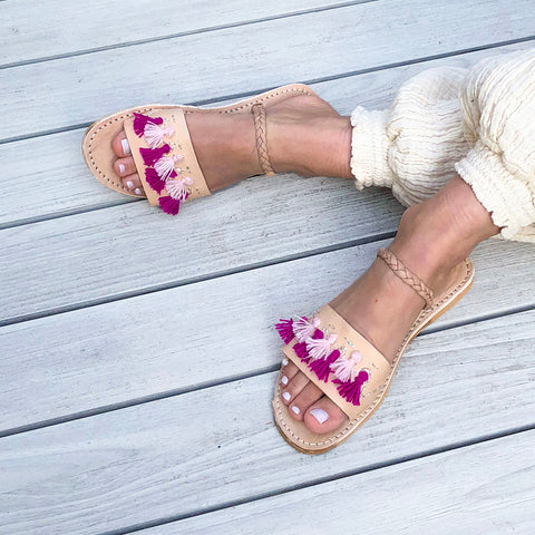 Lu Sandal | leather sandals handmade in Morocco