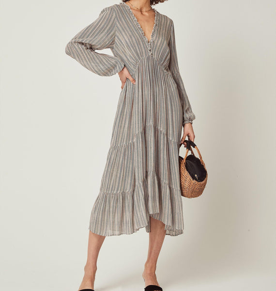 Maze Helena Sleeved Midi Dress