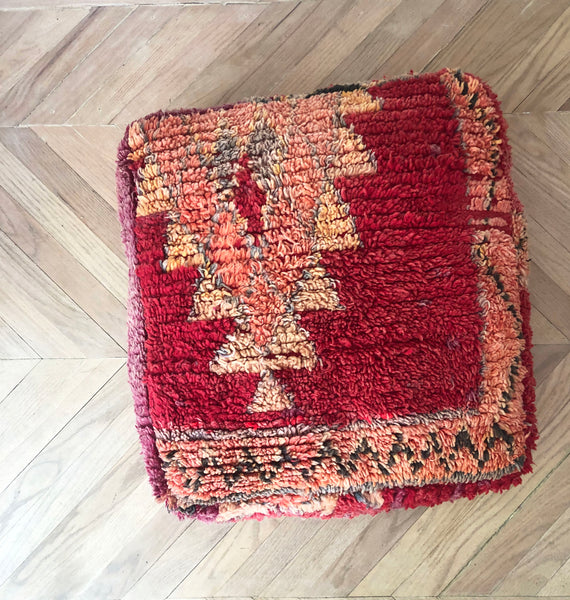 No. 13 | Vintage Wool Floor Cushion