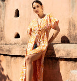 Golden Bird & Bloom Pia Caftan