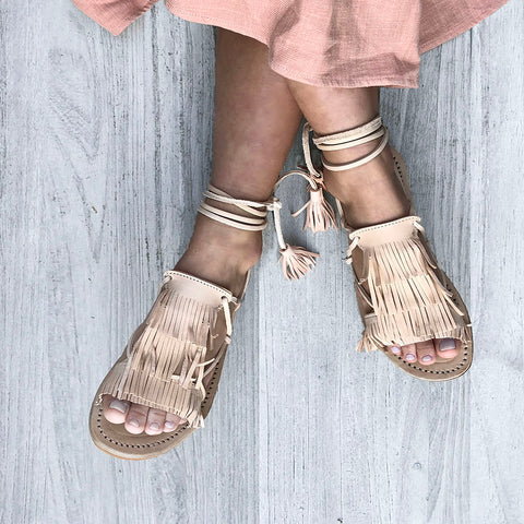 Wilder Sandal | leather sandals handmade in Morocco
