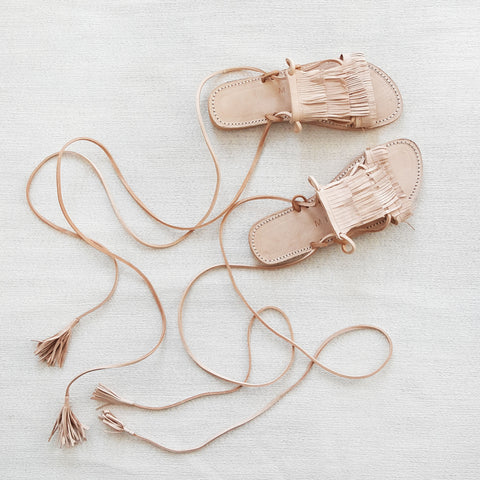 W I L D E R: leather sandal