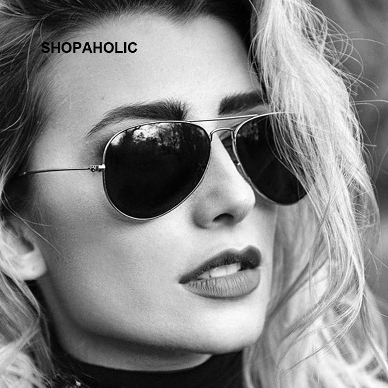Fashion Luxury Aviation Sunglasses Women Brand Designer Sun Glasses For Women Lady Sunglass Female Ray Oculos De Sol