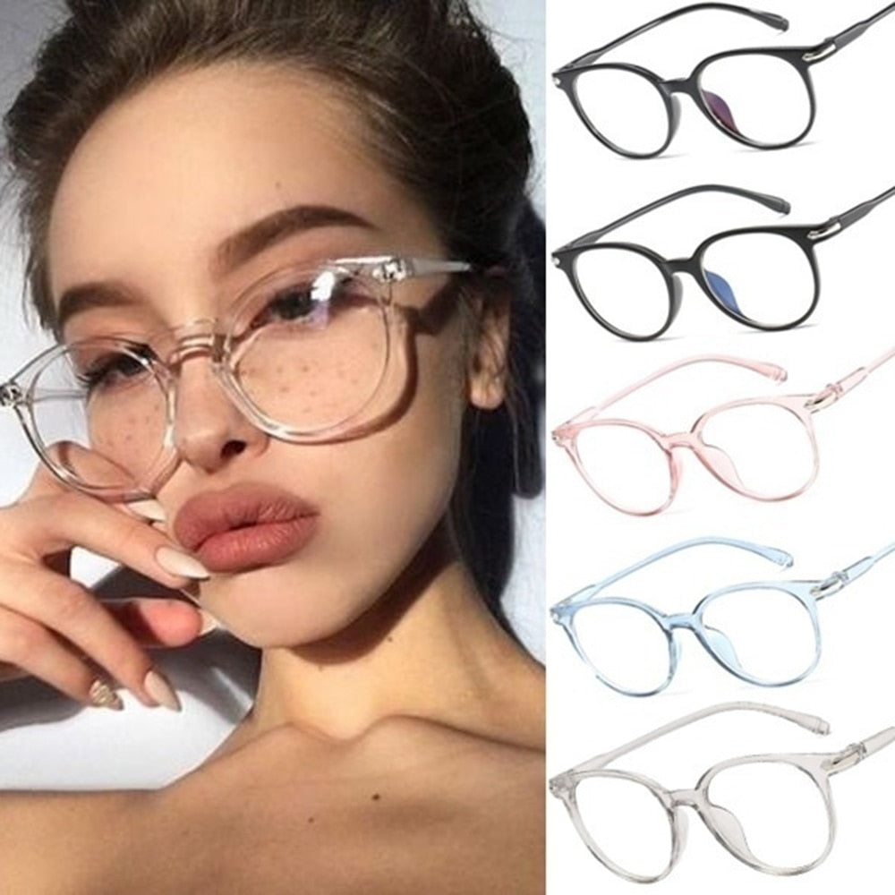 1PC Blocking Smart Phone Len Transparent Anti Blue Ray Computer Gaming Glasses Anti UV Blue Light Stop Eyewears Accessories