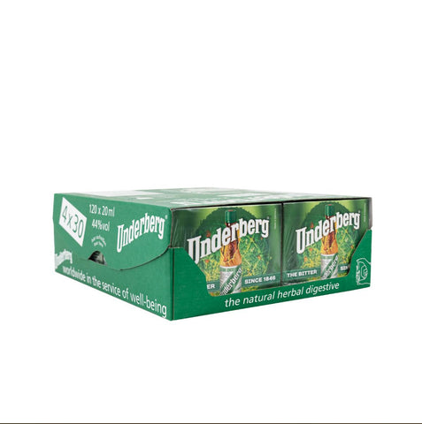Underberg 4x30 Full Case by Underberg (0.67ozea)