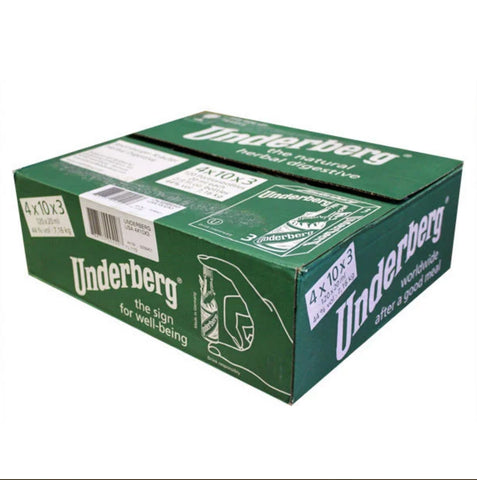 Full Case of Underberg 3 Packs (120 total)