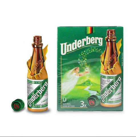 Underberg Natural Herb Bitters (3 bottles) by Underberg (0.67ozea)