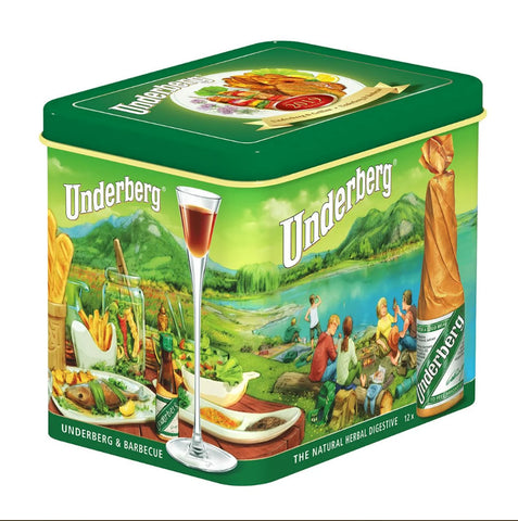2019 Collector's Gift Tin by Underberg (12 Liquid)