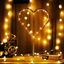 Load image into Gallery viewer, Romantic Shapes LED String Holiday Light With Holder