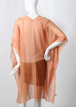 Load image into Gallery viewer, Arie - Camel Boho Kimono w/ Sequins