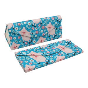 REAL SIC Animal Glasses Case - Pigs