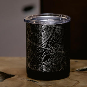 Henderson Nevada Map Insulated Cup in Matte Black