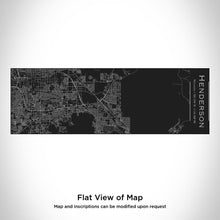 Load image into Gallery viewer, Henderson Nevada Map Insulated Cup in Matte Black