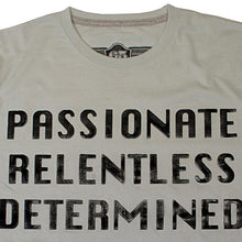 Load image into Gallery viewer, 65 MCMLXV Men's Passionate Relentless Determined Graphic T-Shirt
