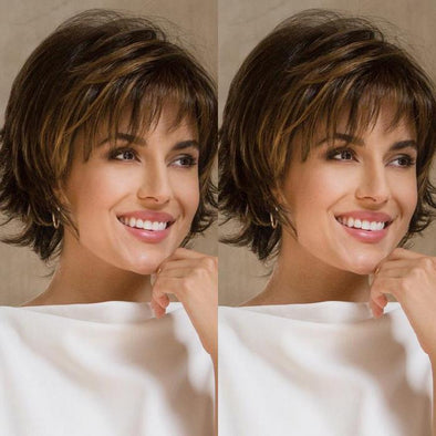 2021 New Charming Brown Short Wig
