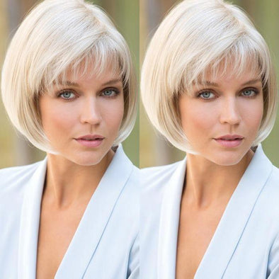 2021 New Charming White Gold Short Wig