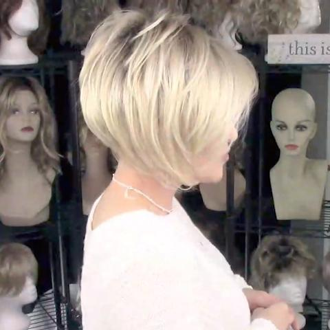2021 Soft White Gold BOB Wig