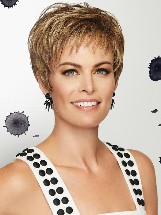 Romantic Brown Short Wig