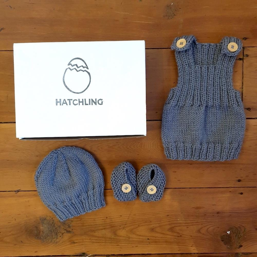 Finley Kit — Merino Blue