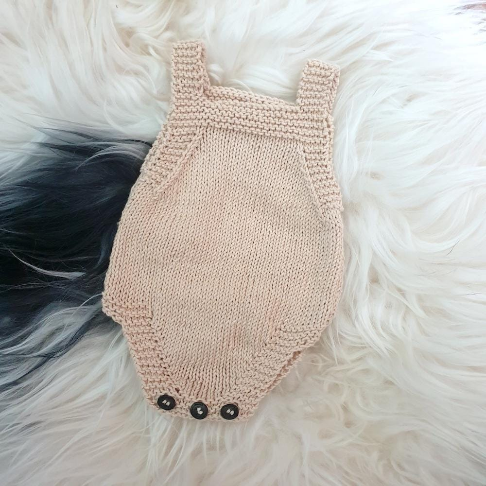 Made to order: Cotton Romper, newborn - Hatchling NZ