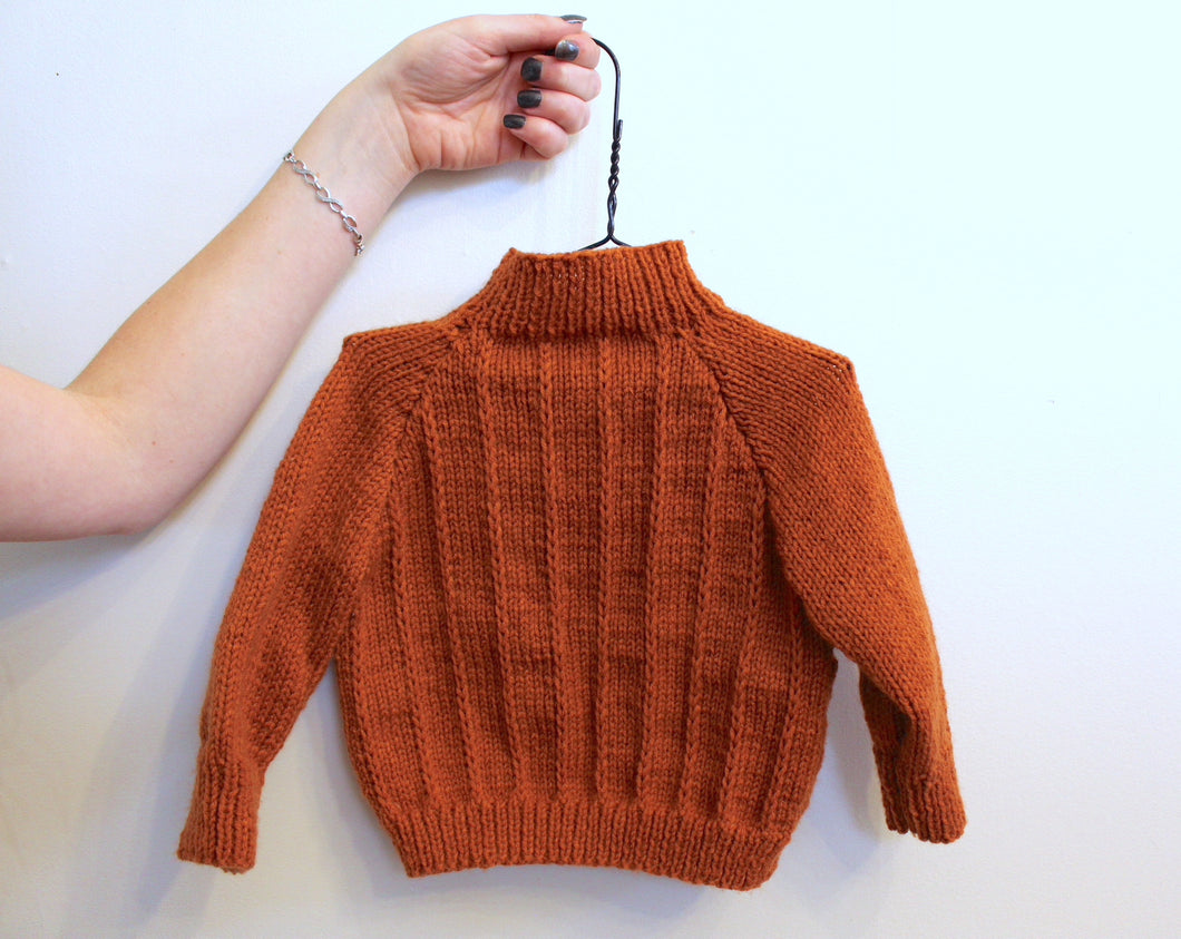 Addison Sweater, size 6–12 months