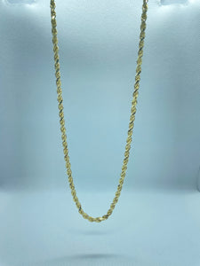 "Rope Chain 20"" Chain Necklace in 14k Gold"