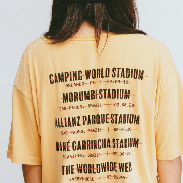Load image into Gallery viewer, Stadium Tee [Vintage Yellow]