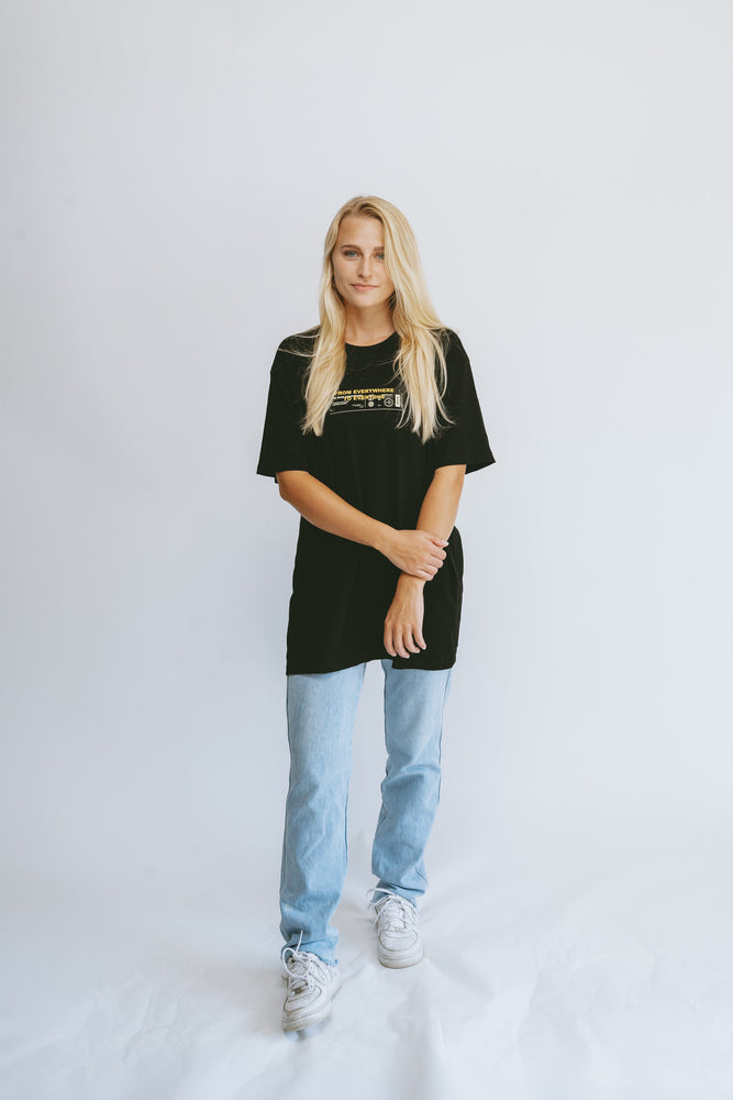 Load image into Gallery viewer, Campaign Tee [BLACK]