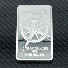 Load image into Gallery viewer, 10 oz .999 Fine Silver Bar - Provident Metals
