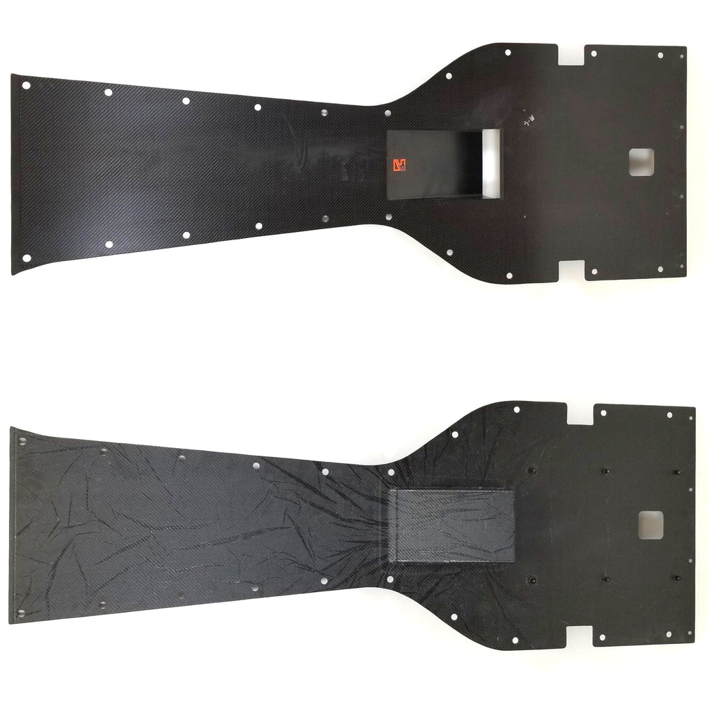 2003-2017 Gen III-V Carbon Fiber Belly Pan